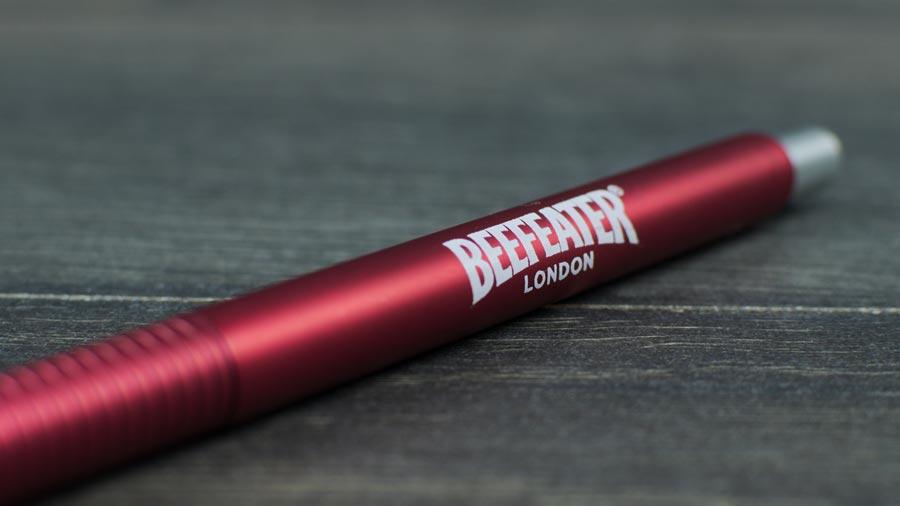 Detalle tampografía bolígrafo